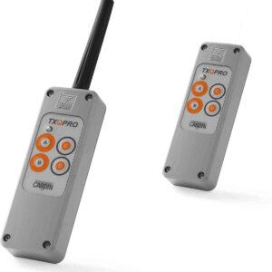 TXQPRO504-4A TELECOMANDO S504 a 4 funzioni 433MHz con antenna esterna